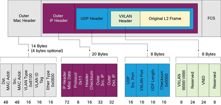 vxlan packet format 1