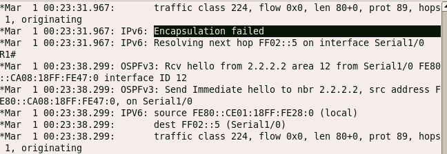 encapsulation failed