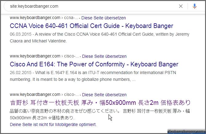 chinese symbols popping up on my blog